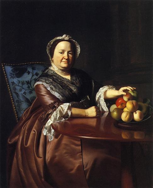Mrs.Ezekiel Gondthwait (Elizabeth Lewis), 1771 - John Singleton Copley