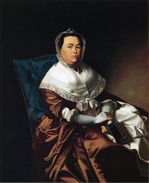 Mrs. James Russell (Katherine Graves), c.1770 - John Singleton Copley