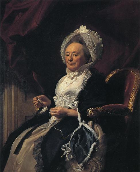 Mrs.Seymour Fort, c.1778 - John Singleton Copley