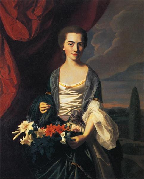 Mrs.Woodbury Langdon, 1767 - John Singleton Copley