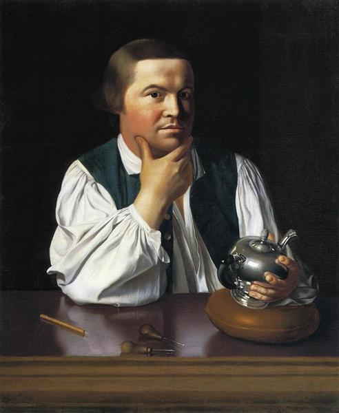Paul Revere, c.1768 - 1770 - John Singleton Copley