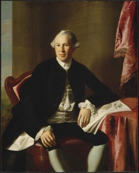 Portrait of Joseph Warren, c.1765 - John Singleton Copley