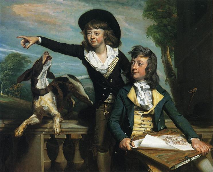 The Western Brothers, 1783 - John Singleton Copley