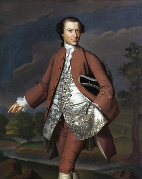 Theodore Atkinson Jr, c.1757 - 1758 - John Singleton Copley