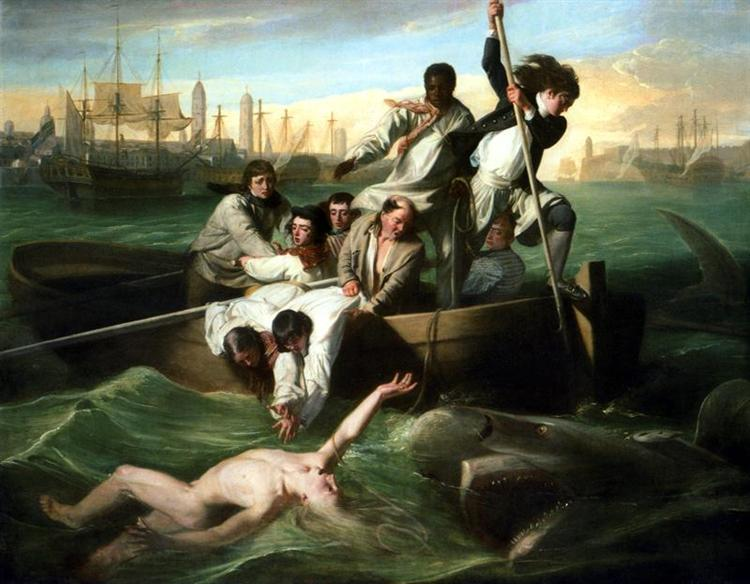 Watson and the Shark - John Singleton Copley