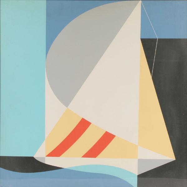 Abstract Sailboat - John Vassos