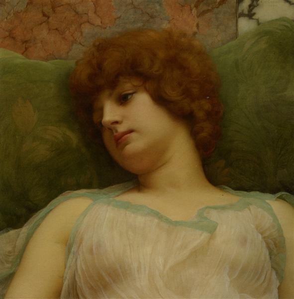 Idle Moments, 1895 - John William Godward