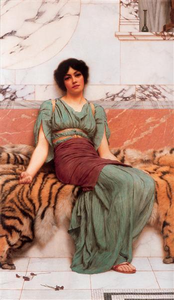 Sweet Dreams, 1901 - John William Godward