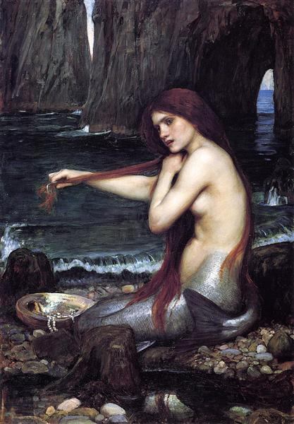 Une Sirène, 1900 - John William Waterhouse