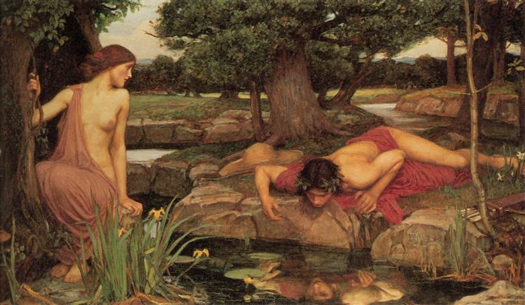 Echo and Narcissus, 1903 - John William Waterhouse