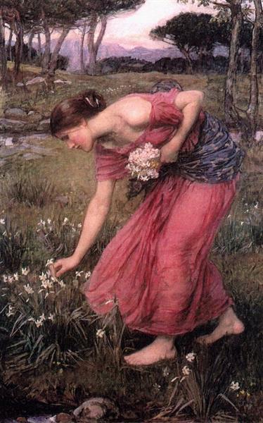 Narcissus, 1912 - John William Waterhouse