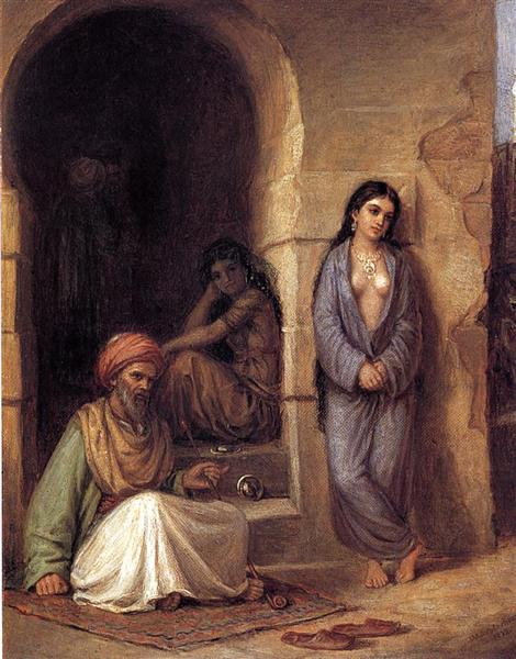 The Slave, 1872 - John William Waterhouse