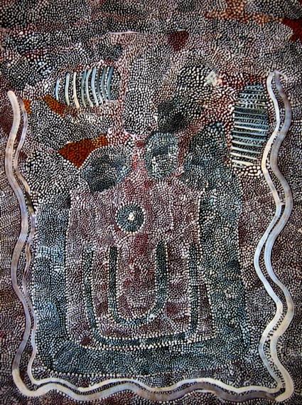 Water Dreaming, 1977 - Johnny Warangkula Tjupurrula