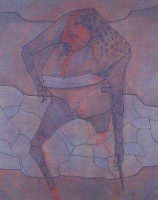 La boiteuse lubrique, 1962 - Jorge Camacho