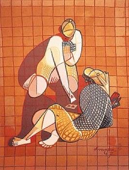 Tapestry - Jose de Almada-Negreiros