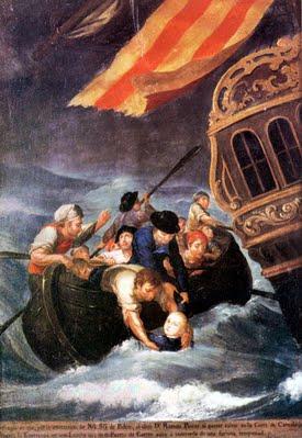 The Rescue of Don Ramón Power y Giralt, 1790 - José Campeche
