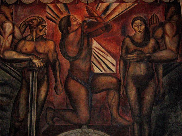 Omniciencia, 1925 - Jose Clemente Orozco