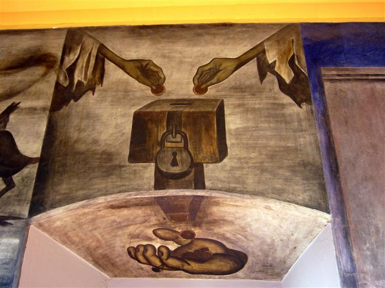 Reaching out, 1924 - Jose Clemente Orozco