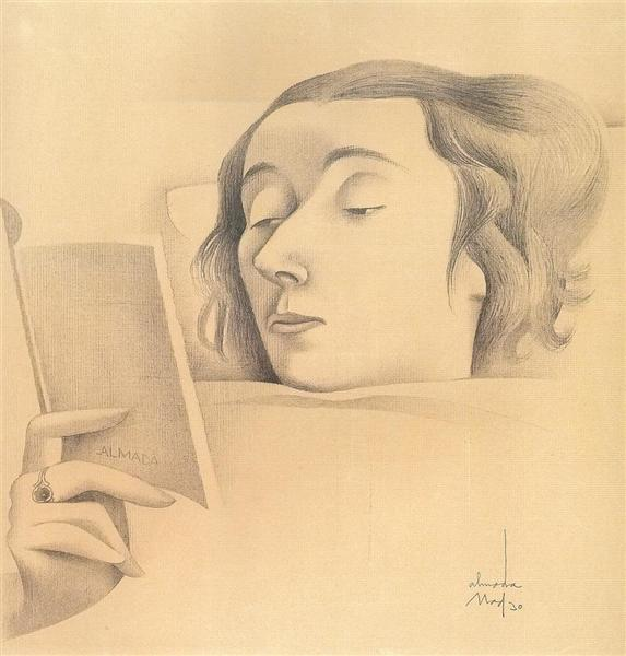 Untitled, 1930 - Jose de Almada-Negreiros
