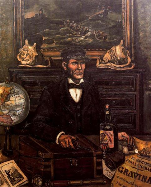 The Merchant Captain, 1930 - 1934 - Jose Gutierrez Solana