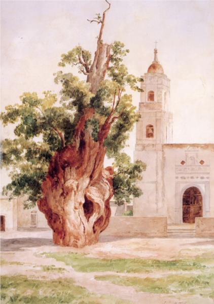 Árbol de la Noche Triste, 1910 - Jose Maria Velasco