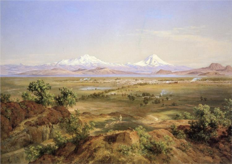 Valle de México desde el Tapeyac, 1905 - Jose Maria Velasco