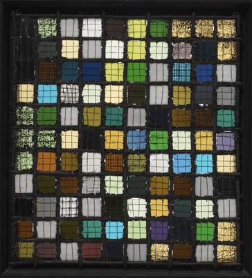 Grid Mounted, 1921 - Josef Albers