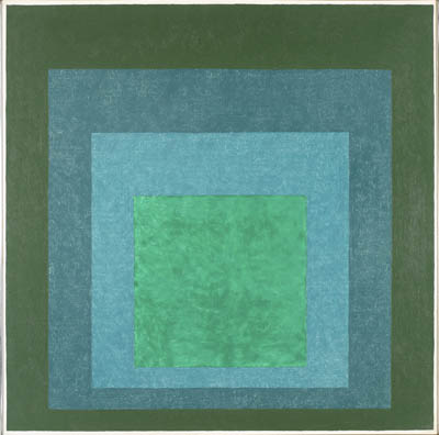 Study for Homage to the Square (Terrassed Foliage), 1960