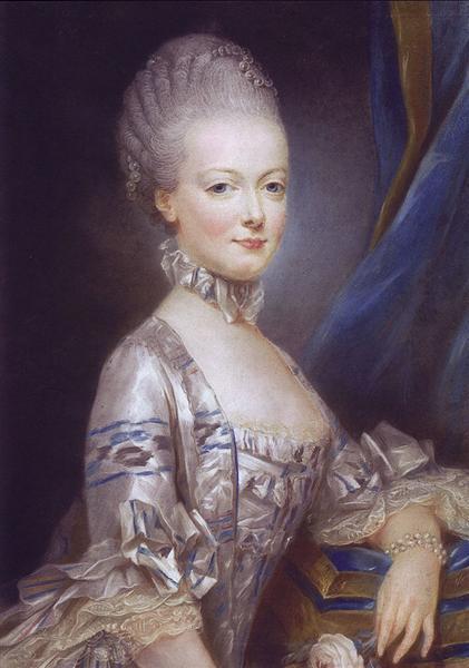 Archduchess Maria Antonia of Austria, 1769 - Joseph Ducreux