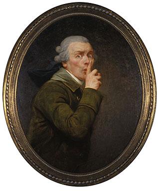 Le Discret, 1790 - Joseph Ducreux