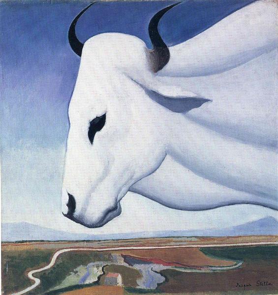 The Ox, 1929 - Джозеф Стелла