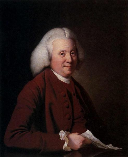 Samuel Crompton C 1780 Joseph Wright Wikiart Org