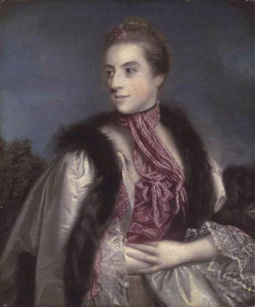Elizabeth Drax, Countess of Berkeley, 1759 - 1760 - Joshua Reynolds