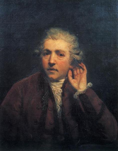 Self-Portrait, 1775 - Joshua Reynolds