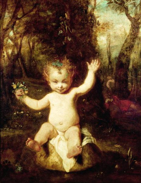 The Puck, 1789 - Joshua Reynolds