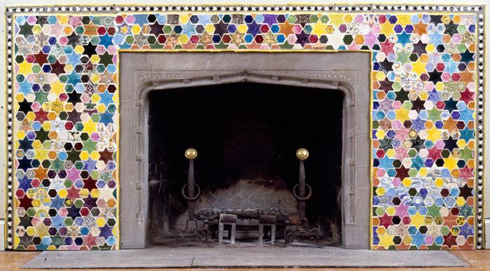 Cincinnati Fireplace, 1980 - Joyce Kozloff