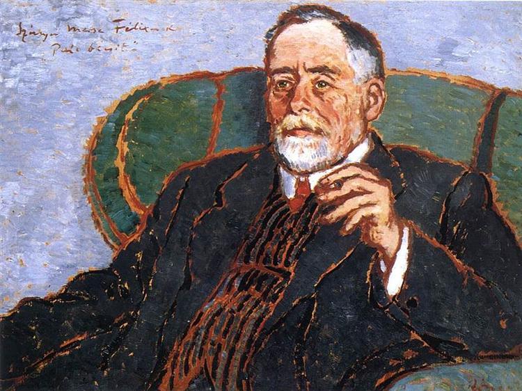 Merse portrait, 1911 - Jozsef Rippl-Ronai