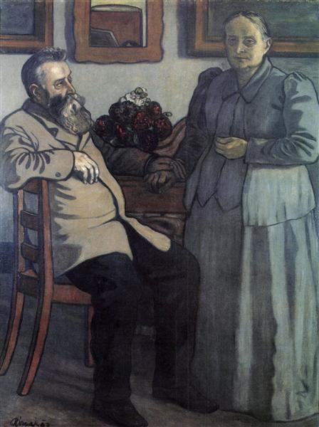 My Parents after Forty Years of Marriage, 1897 - Jozsef Rippl-Ronai