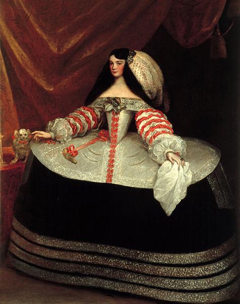 Portrait of Ines de Zuñiga y Velasco, 1660 - Juan Carreno de Miranda