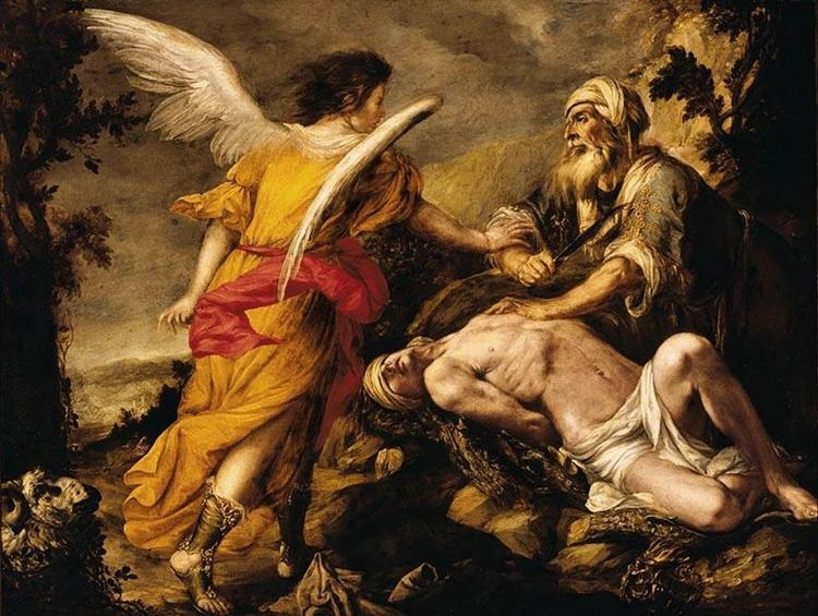 The Sacrifice of Isaac, 1659 - Juan de Valdes Leal