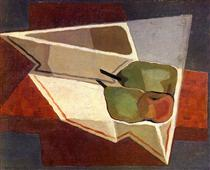 Fruit with Bowl - Juan Gris