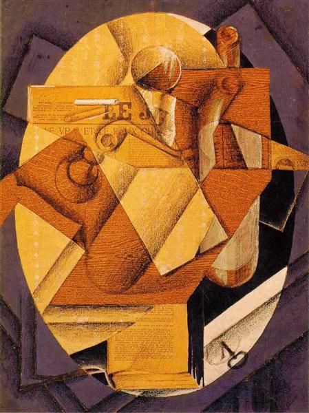 The Table 1914 Juan Gris Wikiart Org