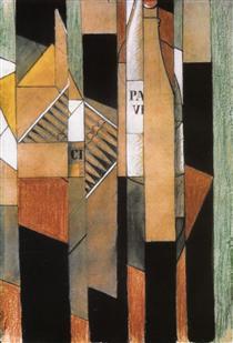 juan gris synthetischer kubismus