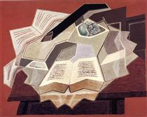 The Open Book - Juan Gris