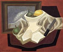 The Table in Front of the Picture - Juan Gris