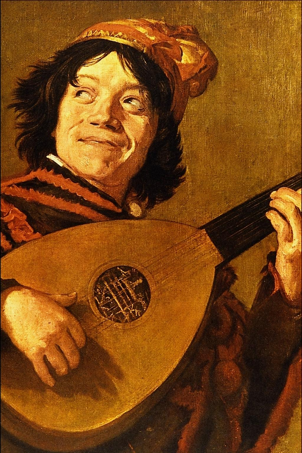 Vacation time inspired by art: Judith Leyster, Young man playing the lute (copy of Lute Player by Frans Hals), Rijksmuseum, Amsterdam, Netherlands.