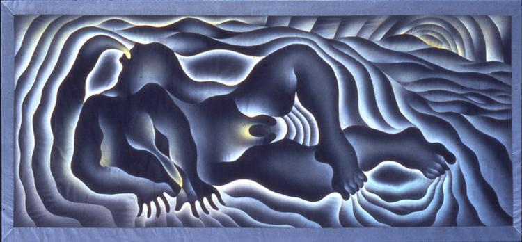 Earth Birth, 1983 - Judy Chicago