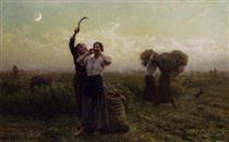 Evening Call - Jules Breton