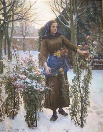 Last Flowers - Jules Breton