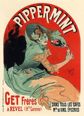 Pippermint, Get Frères, 1900 - Jules Chéret